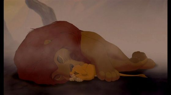 Day 8: saddest moment - Mufasa's death (the lion king)