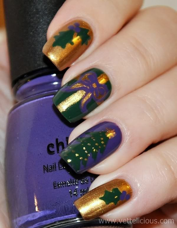 christmas nail images - Google Search