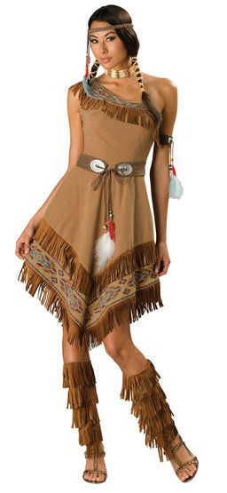 Elite Adult Indian Girl Costume