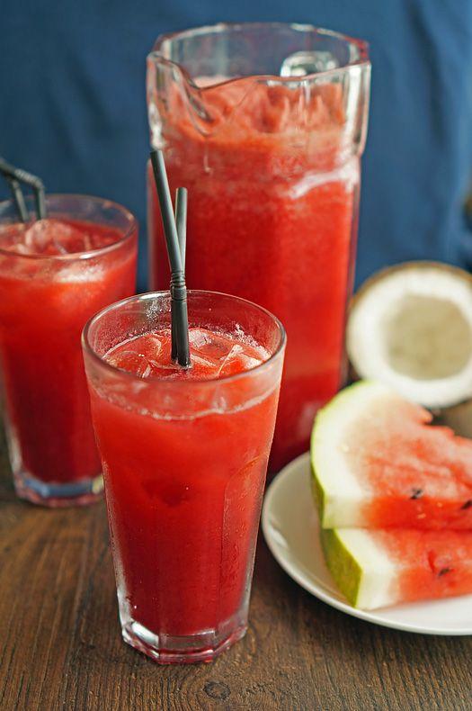 Арбузный лимонад с кокосовой водой - Andy Chef - блог о еде и путешествиях, пошаговые рецепты, интернет-магазин для кондитеров