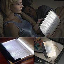 LED kitap işıklar, sihirli Gece Görüş Aydınlatması LED Kitap Okuma Düz Plaka Taşınabilir Araç Seyahat Paneli, ücretsiz Kargo(China (Mainland))