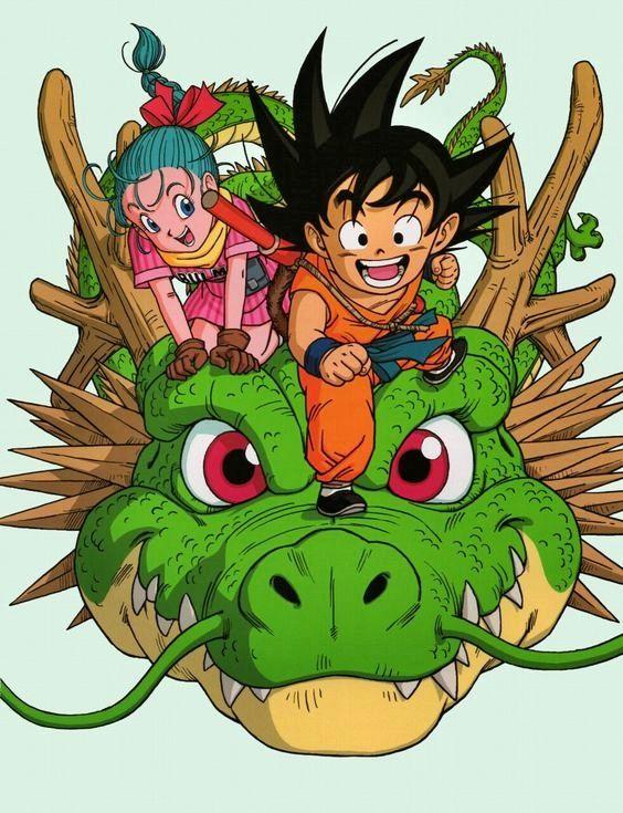 Bulma goku and shenron dragon ball pinterest - Goku e bulma a letto ...