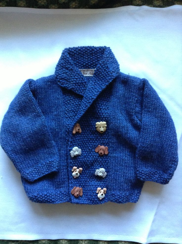 A sweater for Freddie