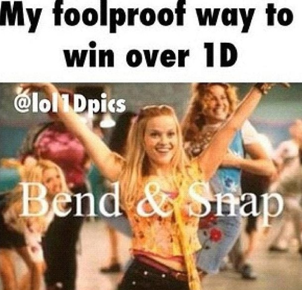 Bend and Snap favorite movie Legally Blonde Whats your fav Legally Blonde moment?