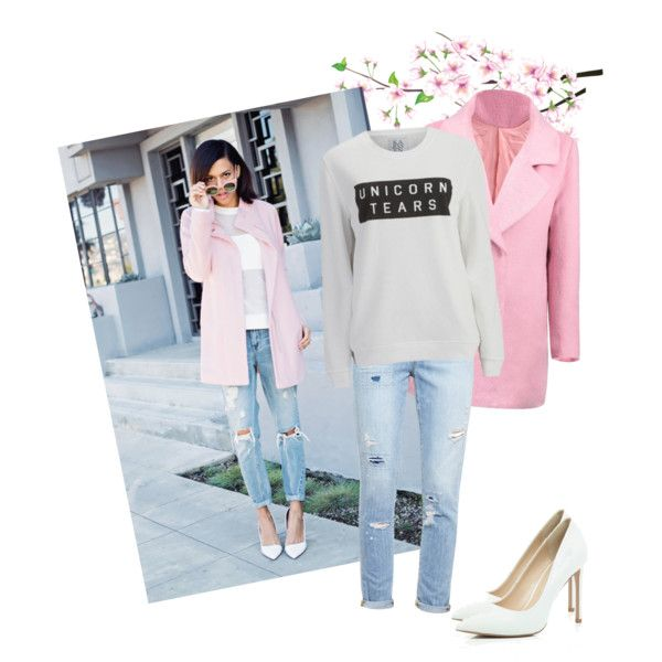 Sweet Unicorn by miqua on Polyvore featuring Mode, Zoe Karssen, Paige Denim and River Island