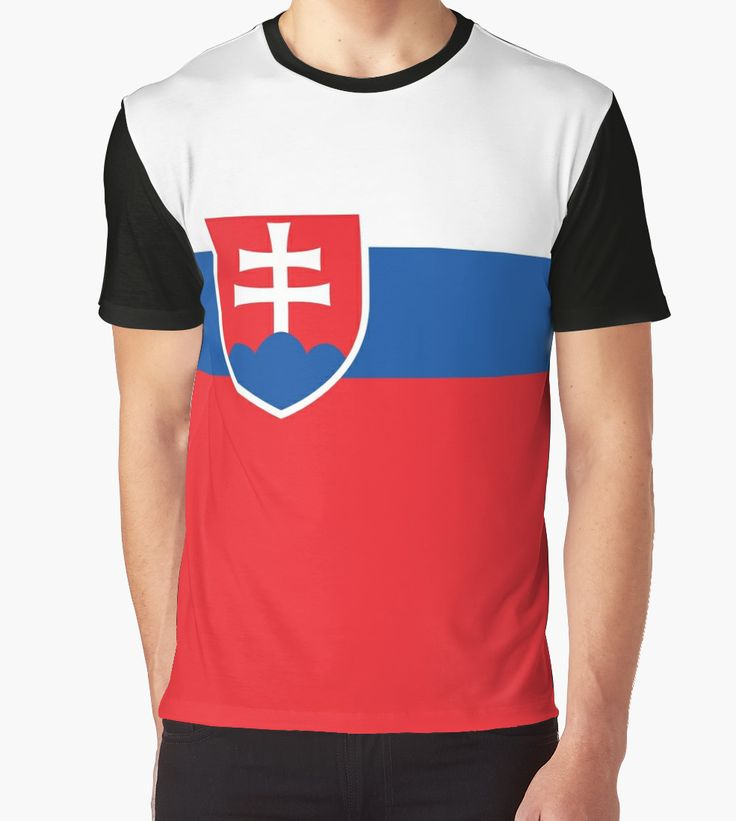 Flag of Slovakia - Authentic high quality version by Bruce Stanfield #slovakia