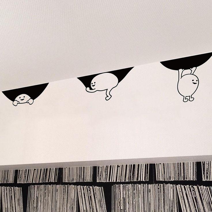 白黒/子供部屋/ウォールステッカー/モノトーン/ジュブリー/jebrille…などのインテリア実例 - 2017-01-12 18:35:45 | RoomClip(ルームクリップ)