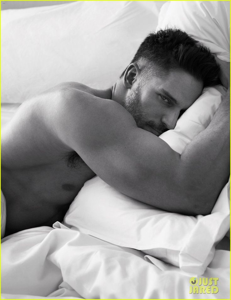 'W' Magazine -  Joe Manganiello  - Wouldn't this be the greatest thing to wake up to everyday?
