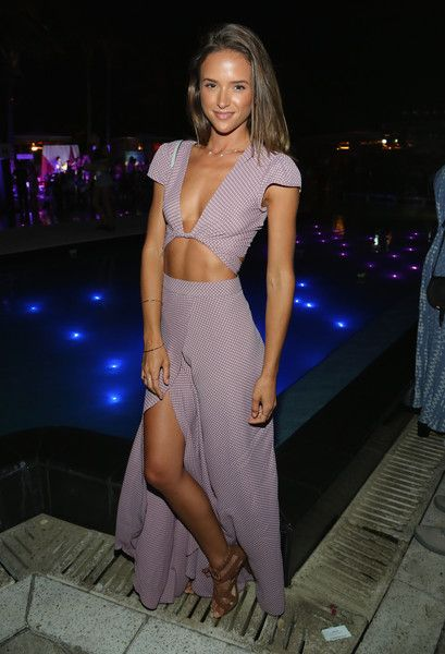 Helen Owen attends the Frankie's Bikinis 2017 Collection at SwimMiami at W South Beach on July 15, 2016 in Miami Beach, Florida. www.escherpe.com