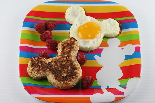 Cinnamon-Oat Pancakes & Mickey Mouse Eggs | Flickr - Photo Sharing!