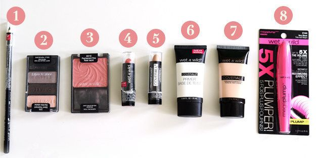 First up, Wet n Wild. | We Tried Five Drugstore Makeup Brands And Here's What Actually Works Best
