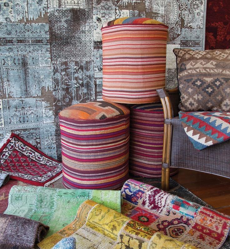 Organic wool patterns