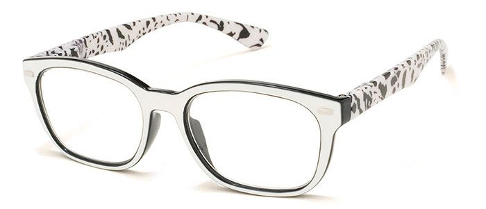 Funky and stylish reading glasses, these retro inspired frames from A.J.  Morgan