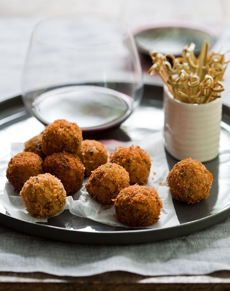 Risotto Balls  | Thermomix | #inthemixcooking
