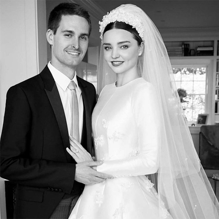 8:53 AM PDT 7/17/2017  by   Sam Reed       The supermodel said yes to a dress designed by Maria Grazia Chiuri for her May nuptials to Evan Spiegel.  Supermodel Miranda Kerr tied the knot with Snapchat founder and CEO Evan Spiegel a couple months ago in May, but the 34-year-old is just now... #Dior #Dress #Gown #Grace #Inspired #Kelly #Kerr #Miranda #Wedding