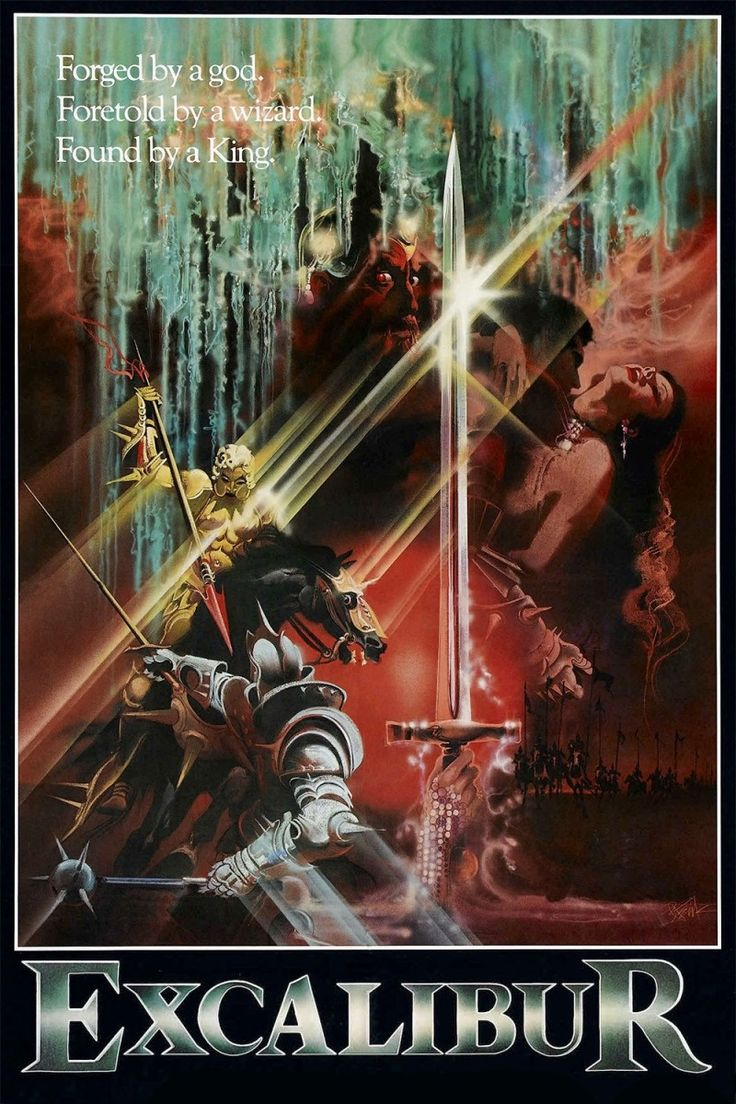 excalibur movie spell of making