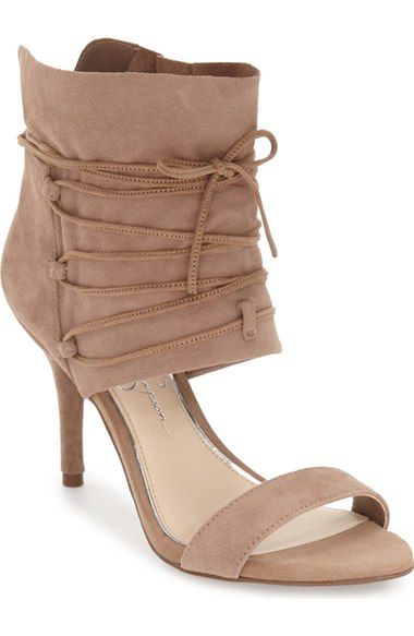 Jessica Simpson 'Madeena' Ghillie  Wrap Sandal (Women) available at #Nordstrom
