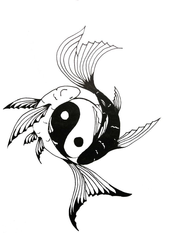 1000 ideas about yin yang tattoos on pinterest yin yang for Fish symbol meaning