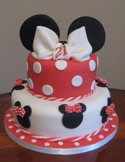another minnie mouse cake