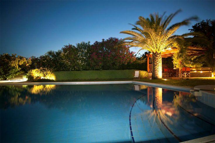 Villa Valli : Pool & garden #vacationrental #Greece
