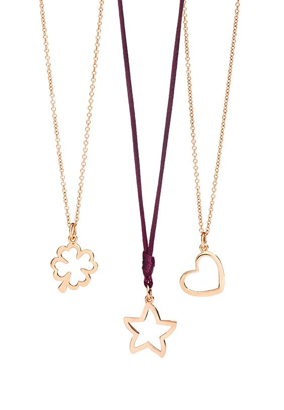 Choose the Dodo Silhouette charms in rose gold to warm your cold winter.  Try them with a purple cord!