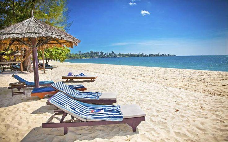 Geniet na uw rondreis van een welverdiende strandvakantie in Sihanoukville! Boek uw rondreis nu bij Original Asia! Rondreis - Vakantie - Cambodja - Sihanoukville - Strandvakantie