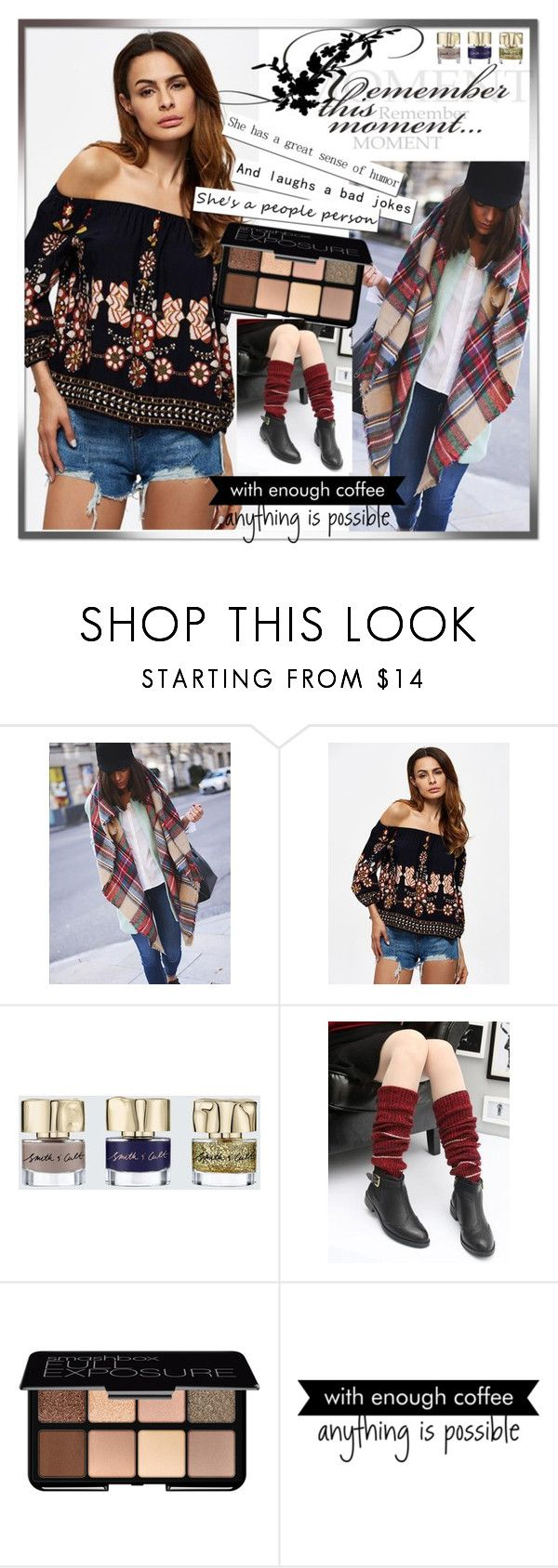 """""""http://www.oshoplive.com 2 / 20"""" by ozil1982 ❤ liked on Polyvore featuring Smith & Cult, Smashbox and WALL"""