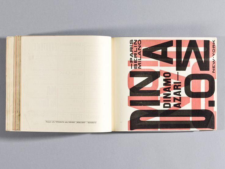 Depero Futurista - The Bolted Book - a New Facsimile -Depero Futurista – The Bolted Book – a New Facsimile