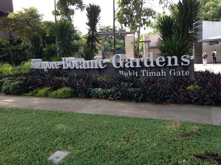 Gate Botanical Garden Singapore