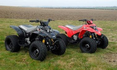 R100 Quadzilla Junior Quad Bike. For more information: http://www.fresh-group.com/junior-quads.html