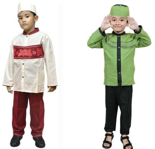 model baju muslim anak laki laki terbaru-2
