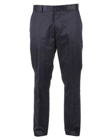 Selected Classic One Trousers Navy