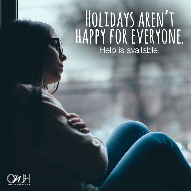 If you aren't feeling it this year, that's ok. If it's more than that, there's help. #Health4theHolidays #lovingme