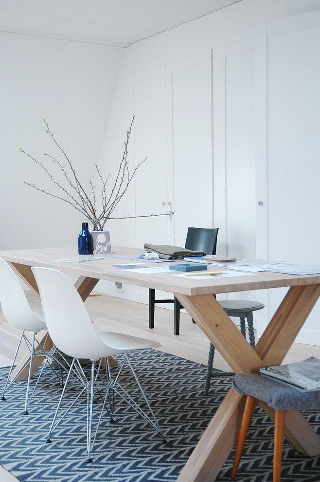 eames & houten tafel... staan op mijn verlanglijstje