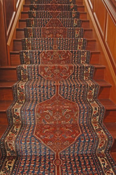 Handwoven Stair Runner, Oriental Rug Stair Runner A Stair Runner Need Not  Be Machine