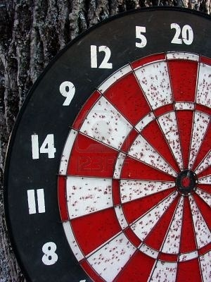 dart board coloring pages - photo#44