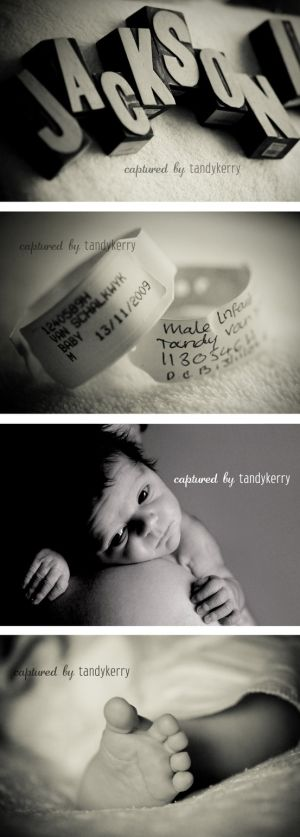 Newborn photography by ericka Love the idea of taking photos of hospital bracelets.