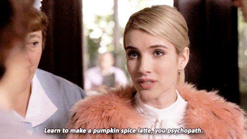 Pin for Later: 25 of Chanel's Harshest Burns on Scream Queens Her Starbucks Etiquette