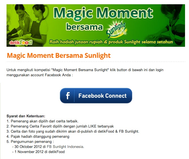 "Kompetisi ""Magic Moment Bersama Sunlight"" di DetikFood »» http://food.detik.com/sunlight/daftar?bl"