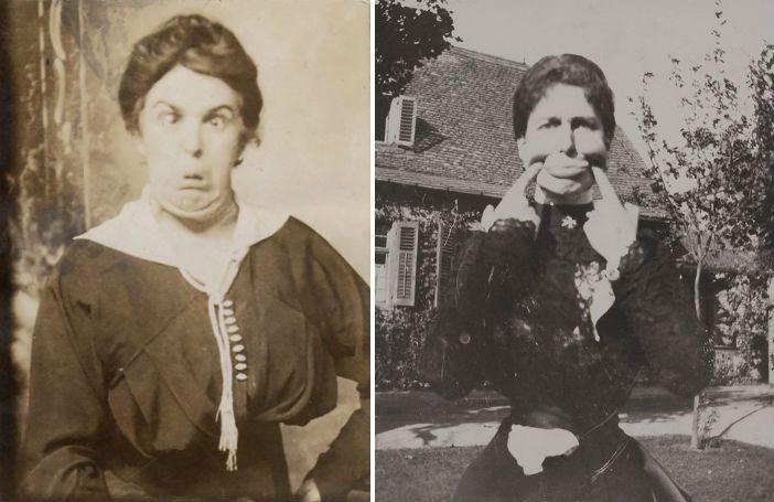 12 foto's uit het Victoriaanse tijdperk die bewijzen dat men vroeger ook wel van een lolletje hield