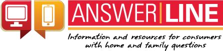 AnswerLine - provides information and resources for Iowa consumers with home and family questions. We've been answering consumer questions for more than 30 years.