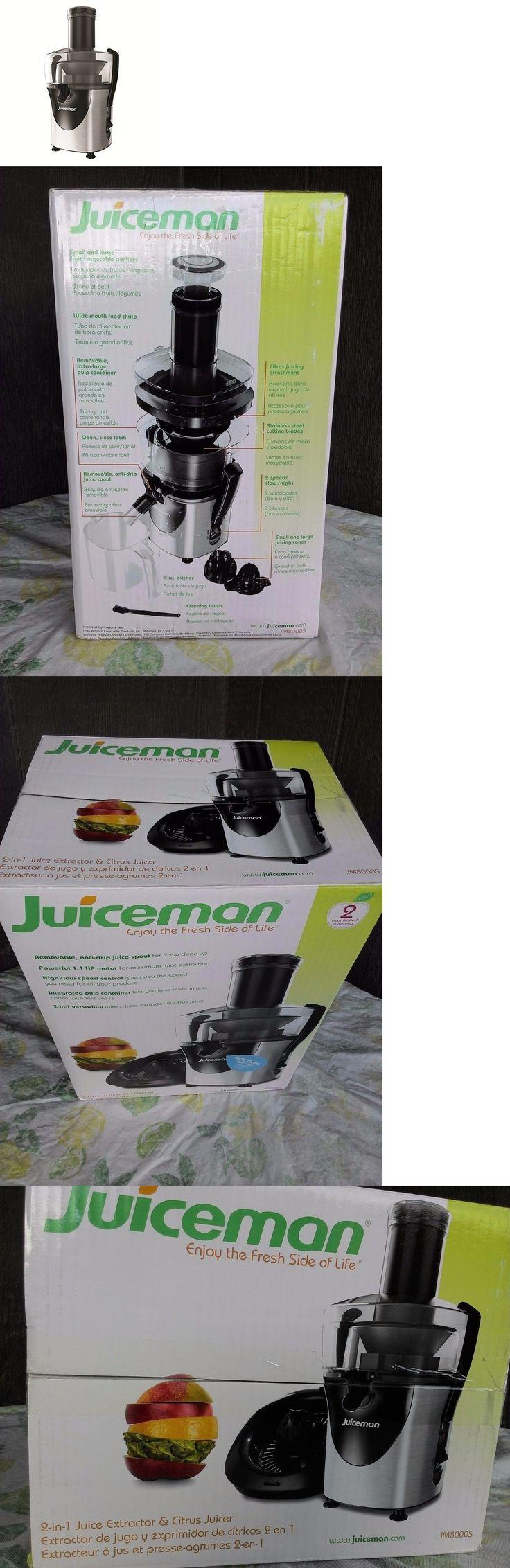 Juicers 20677: Juiceman 2 In 1 Juice Extractor Citrus Juicer Jm8000s -> BUY IT NOW ONLY: $79.98 on eBay!