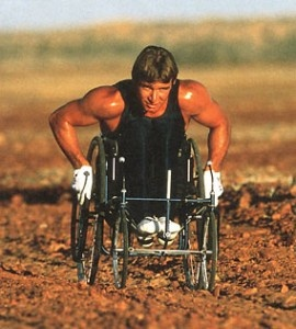Rick Hansen. What a Great Canadian Hero!