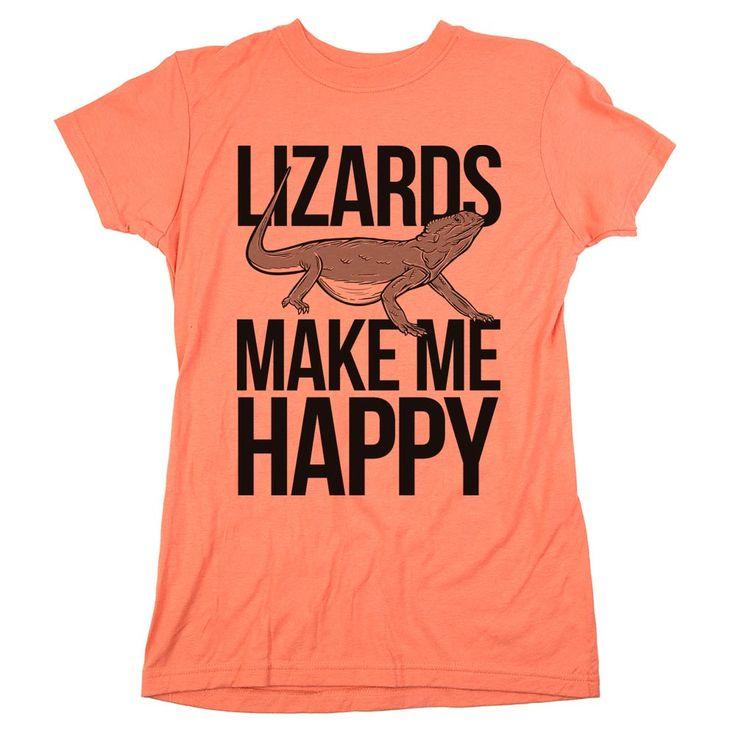 'Lizards Make Me Happy'