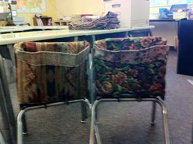 Welcome Home Farm: Elementary School Chair Pockets                                                                                                                                                                                 More