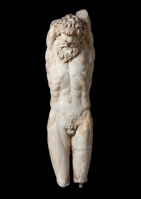 The Torment (Flaying) of Marsyas - 1st or 2nd century Roman copy of 3rd century BC Hellenistic sculpture