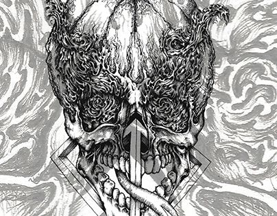 "Check out new work on my @Behance portfolio: ""skulls I love"" http://on.be.net/1N0i7O7"