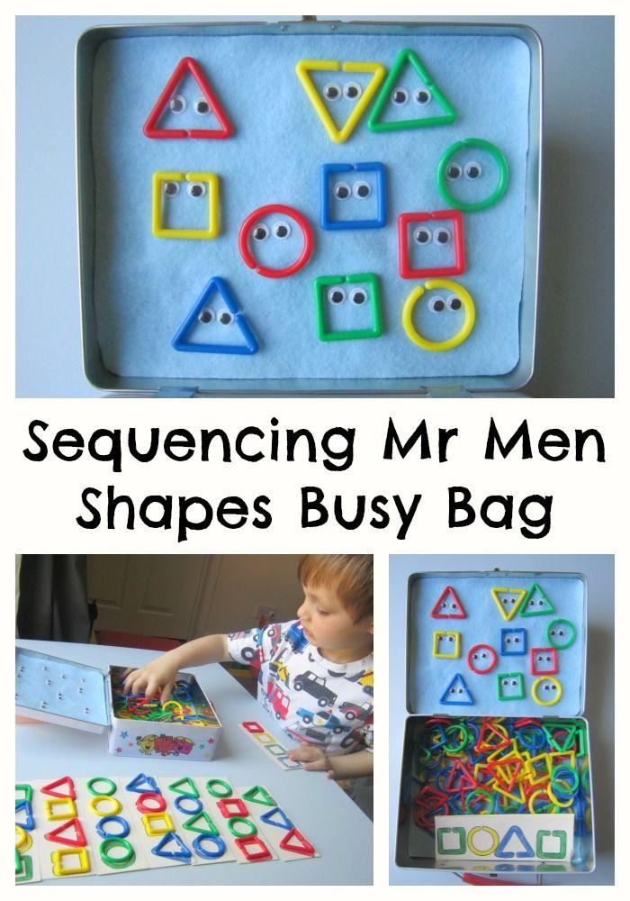 Adventures of Adam Sequencing Mr Men Busy Bag Adventures of Adam