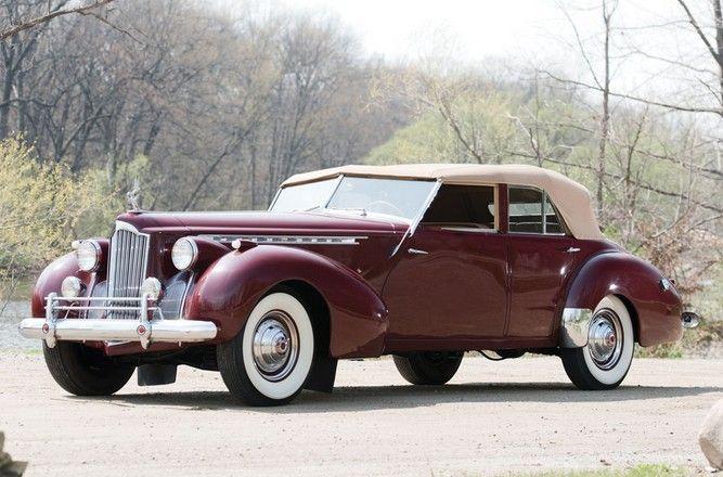 1940 Packard Custom Eight Super One Eighty Packard Motor Car