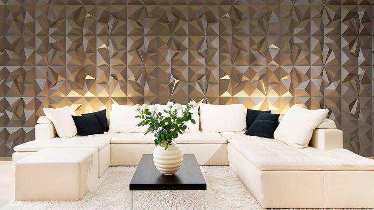 3D Dekoratif Duvar Kaplama Panelleri - PRIZMA